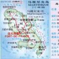 马提尼克地图(法属)_境外领土地图库