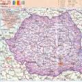罗马尼亚地图_罗马尼亚地图库