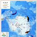 南极洲地理图_南极洲地图库