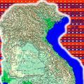 柬埔寨地图中文版全图_柬埔寨地图库