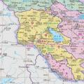 亚美尼亚地图中文版_亚美尼亚地图库