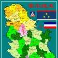 塞尔维亚行政区划图_塞尔维亚地图库