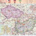 捷克地图中文版_捷克地图库