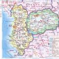 阿尔巴尼亚中文全图_阿尔巴尼亚地图库