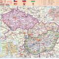 匈牙利地图中文版_匈牙利地图库