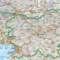 斯洛文尼亚英文全图_斯洛文尼亚地图库