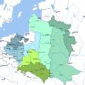 波兰地图英文版_波兰地图库