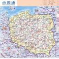 波兰地图中文版_波兰地图库