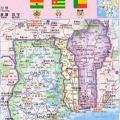 贝宁地图中文版_贝宁地图库