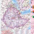 吉布提地图中文_吉布提地图库