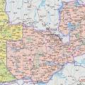 赞比亚地图中文版_赞比亚地图库