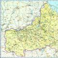 历史地图:山东南部诸郡_中国史稿地图地图库