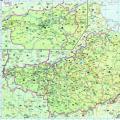 历史地图:都畿道 河南道(唐)_中国史稿地图地图库