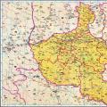 历史地图:河南(明)_中国史稿地图地图库
