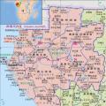 加蓬高清中文全图_加蓬地图库