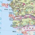 冈比亚地图中文版_冈比亚地图库