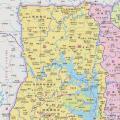 加纳高清地图中文版_加纳地图库