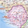 塞拉利昂地图中文版_塞拉利昂地图库