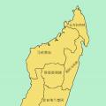 马达加斯加行政区划图_马达加斯加地图库