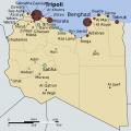 利比亚英文地图_利比亚地图库