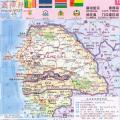 几内亚比绍地图中文版_几内亚比绍地图库