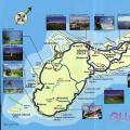 关岛旅游地图英文_关岛地图库