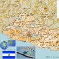 萨尔瓦多地图英文版_萨尔瓦多地图库