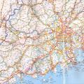 珠江三角洲地区高速公路地图2017版_交通地图库