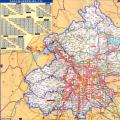 北京高速公路地图2017版_交通地图库