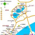 南山文化旅游区导游图_海南旅游地图库
