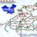 岳西旅游景点分布图_安徽景点地图库
