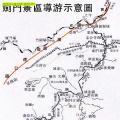 剑门关景区导游图_四川旅游地图库