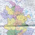 安徽省地图高清版_安徽地图库