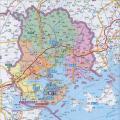 厦门市地图高清版_厦门地图库