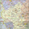 来恩兰-普法尔茨州_德国地图库