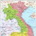 越南地图高清版_越南地图库