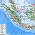 印度尼西亚全图中文版_印度尼西亚地图库