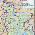 孟加拉国旅游地图_孟加拉国地图库