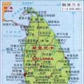斯里兰卡地图最新版_斯里兰卡地图库