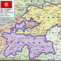 塔吉克斯坦地图中文版_塔吉克斯坦地图库