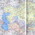 吉尔吉斯斯坦地图中英文版_吉尔吉斯斯坦地图库