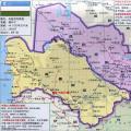 土库曼斯坦旅游地图_土库曼斯坦地图库