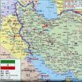 伊朗旅游地图_伊朗地图库