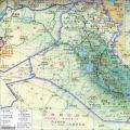 科威特地图(地形版)_科威特地图库