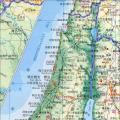 巴基斯坦地图(地形版)_巴勒斯坦地图库