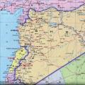 叙利亚旅游地图_叙利亚地图库