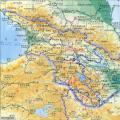 阿塞拜疆地势图_阿塞拜疆地图库