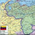 委内瑞拉高清中文全图_委内瑞拉地图库