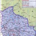 玻璃维亚旅游地图_玻利维亚地图库