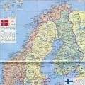 挪威地图(高清版)_挪威地图库